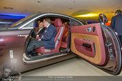 Re-Opening und BMW i8 Vorstellung - BMW Wien - Do 20.03.2014 - Oliver VOIGT im ROLLS ROYCE Modell82