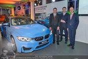 Re-Opening und BMW i8 Vorstellung - BMW Wien - Do 20.03.2014 - Werner WALTER, Kurt EGLOFF, Nicolas PETER90