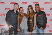 Otto Sommer Modenschau - Sofiensäle - Mo 31.03.2014 - Fadi und Ines MERZA, Alex LIST, Martina KAISER13
