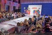 Otto Sommer Modenschau - Sofiensäle - Mo 31.03.2014 - Gruppenfoto Models und Promis187
