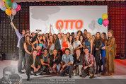 Otto Sommer Modenschau - Sofiensäle - Mo 31.03.2014 - Gruppenfoto Models und Promis198