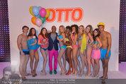 Otto Sommer Modenschau - Sofiensäle - Mo 31.03.2014 - Gruppenfoto Harald GUTSCHI mit Models210