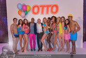Otto Sommer Modenschau - Sofiensäle - Mo 31.03.2014 - Gruppenfoto Harald GUTSCHI mit Models211