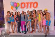 Otto Sommer Modenschau - Sofiensäle - Mo 31.03.2014 - Gruppenfoto Harald GUTSCHI mit Models212
