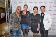 Dinner of Fame - Rainers Hotel Wien - Di 01.04.2014 - Eric PAPILAYA mit Freundin Julie, Steffi, Andreas SEIDL36