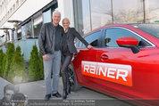 Dinner of Fame - Rainers Hotel Wien - Di 01.04.2014 - Toni Anton POLSTER mit Birgit48