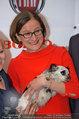 Pro Juventute Charity - Studio 44 - Do 03.04.2014 - Brigitte KRENN mit Hund Jako37