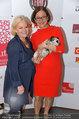 Pro Juventute Charity - Studio 44 - Do 03.04.2014 - Johanna MIKL-LEITNER mit Hund Jako, Brigitte KRENN40