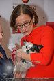 Pro Juventute Charity - Studio 44 - Do 03.04.2014 - Brigitte KRENN mit Hund Jako42