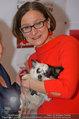 Pro Juventute Charity - Studio 44 - Do 03.04.2014 - Brigitte KRENN  mit Hund Jako43