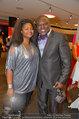 Pro Juventute Charity - Studio 44 - Do 03.04.2014 - Biko BOTOWAMUNGO mit Ehefrau Nakale (Natalie)44