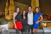 Birthday Party - Do&Co - Fr 04.04.2014 - Barbara und Kevin REICHARD, Amina DAGI, Katharina NAHLIK32