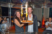 Birthday Party - Do&Co - Fr 04.04.2014 - Barbara REICHARD mit Sohn Kevin88