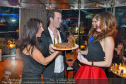 Birthday Party - Do&Co - Fr 04.04.2014 - Barbara REICHARD mit Sohn Kevin, Amina DAGI90