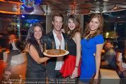 Birthday Party - Do&Co - Fr 04.04.2014 - Barbara REICHARD mit Sohn Kevin, Amina DAGI, Katharina NAHLIK91