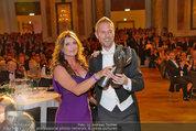 Dancer against Cancer - Hofburg - Sa 05.04.2014 - Er�ffnungstanz Kelly LEBROCK, Matthias URRISK191