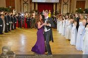 Dancer against Cancer - Hofburg - Sa 05.04.2014 - Er�ffnungstanz Kelly LEBROCK, Matthias URRISK196