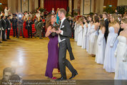 Dancer against Cancer - Hofburg - Sa 05.04.2014 - Er�ffnungstanz Kelly LEBROCK, Matthias URRISK197
