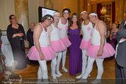 Dancer against Cancer - Hofburg - Sa 05.04.2014 - Kelly LEBROCK Schwanensee-Ballett (LETZ, WINKLER, HOWARD,RADLHER230