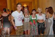 Dancer against Cancer - Hofburg - Sa 05.04.2014 - Philipp KNEFZ, Amina DAGI, Marion FINGER, Verena PFL�GER232