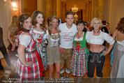 Dancer against Cancer - Hofburg - Sa 05.04.2014 - Philipp KNEFZ, Amina DAGI, Marion FINGER, Verena PFL�GER233