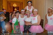 Dancer against Cancer - Hofburg - Sa 05.04.2014 - Marion FINGER, Robert LETZ, Hans-Georg und Karin HEINKE237