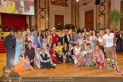 Dancer against Cancer - Hofburg - Sa 05.04.2014 - Gruppenfoto Jury und Tanzpaare366
