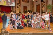 Dancer against Cancer - Hofburg - Sa 05.04.2014 - Gruppenfoto Jury und Tanzpaare367