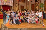 Dancer against Cancer - Hofburg - Sa 05.04.2014 - Gruppenfoto Jury und Tanzpaare369