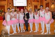 Dancer against Cancer - Hofburg - Sa 05.04.2014 - Gregor HATALA mit Schwanensee-Ballett371