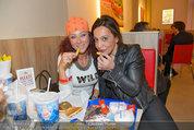 10 Jahresfeier - Burger King - Di 08.04.2014 - Christina LUGNER, Atousa MASTAN14