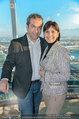50 Jahresfeier - Donauturm - Mi 16.04.2014 - Marion FINGER, Robert LETZ11