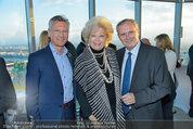 50 Jahresfeier - Donauturm - Mi 16.04.2014 - Bert COPAR, Birgit SARATA, Karl MAHRER18