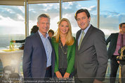 50 Jahresfeier - Donauturm - Mi 16.04.2014 - Christine REILER, Bert COPAR, Michael HANKE2