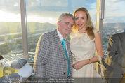 50 Jahresfeier - Donauturm - Mi 16.04.2014 - Christian und Ekaterina MUCHA3