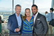 50 Jahresfeier - Donauturm - Mi 16.04.2014 - Ines und Fadi MERZA, Bert COPAR4