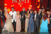 Romy Gala - Preisverleihung - Hofburg - Sa 26.04.2014 - Gruppenfoto Preistr�ger (FISCHER, GOTTSCHALK, SIGL, MAROLT, etc117
