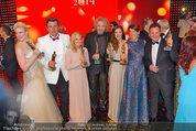 Romy Gala - Preisverleihung - Hofburg - Sa 26.04.2014 - Gruppenfoto Preistr�ger (FISCHER, GOTTSCHALK, SIGL, MAROLT, etc119