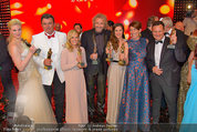 Romy Gala - Preisverleihung - Hofburg - Sa 26.04.2014 - Gruppenfoto Preistr�ger (FISCHER, GOTTSCHALK, SIGL, MAROLT, etc120