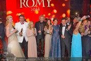 Romy Gala - Preisverleihung - Hofburg - Sa 26.04.2014 - Gruppenfoto Preistr�ger (FISCHER, GOTTSCHALK, SIGL, MAROLT, etc123