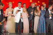 Romy Gala - Preisverleihung - Hofburg - Sa 26.04.2014 - Gruppenfoto Preistr�ger (FISCHER, GOTTSCHALK, SIGL, MAROLT, etc124