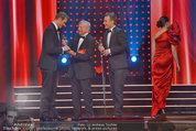 Romy Gala - Preisverleihung - Hofburg - Sa 26.04.2014 - Hugo PORTISCH �bergibt Romy an Alexander WURZ, Ernst HAUSLEITNE18