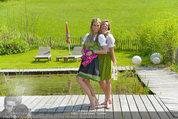 Birthday Party - Hanner Mayerling - So 27.04.2014 - Yvonne RUEFF mit Freund51