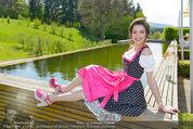 Birthday Party - Hanner Mayerling - So 27.04.2014 - Amina DAGI im Dirndl57