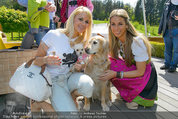 Birthday Party - Hanner Mayerling - So 27.04.2014 - Kathi STEININGER mit Hund Chloe, Yvonne RUEFF6
