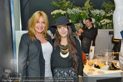 Duftpräsentation - Tiberius - Di 29.04.2014 - Irene MAYER mit Tochter Mariella2