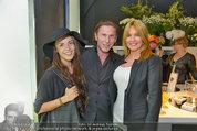 Duftpräsentation - Tiberius - Di 29.04.2014 - Karl AMMERER, Irene MAYER mit Tochter Mariella6