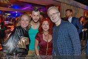 Amadeus Aftershow Party - Volksgarten - Di 06.05.2014 - Anja und Thomas RABTISCH, Lukas PL�CHL, Milica THEESSINK13
