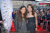 Amadeus - Red Carpet - Volkstheater - Di 06.05.2014 - Christina ST�RMER, Anna F.118