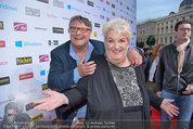 Amadeus - Red Carpet - Volkstheater - Di 06.05.2014 - Joesi PROKOPETZ, Steffanie WERGER155